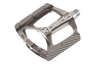 pedales xpedo zed 9 16 argent