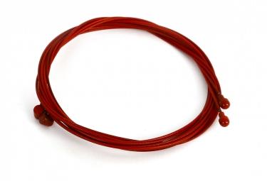cable de frein en teflon msc rouge