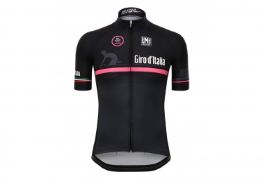 maillot manches courtes santini giro 2016 fashion the line event noir rose