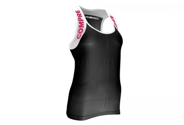 debardeur de trail compressport trail shirt v2 ultra tank noir
