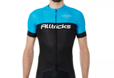 maillot manches courtes alltricks by isano noir bleu