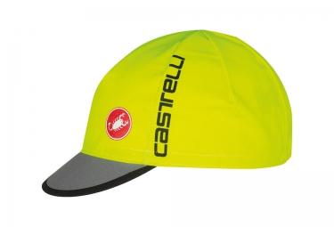 casquette castelli free jaune