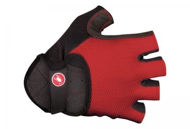 gants courts castelli pista rouge