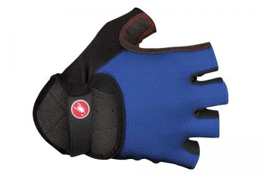 gants courts castelli pista bleu