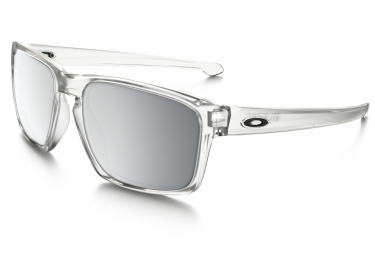 lunettes oakley sliver transparent chrome iridium ref oo9262 23