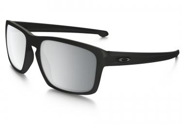 lunettes oakley sliver noir chrome iridium ref oo9262 26