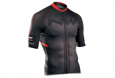 maillot manches courtes northwave extreme noir