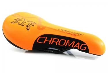 selle chromag overture orange noir