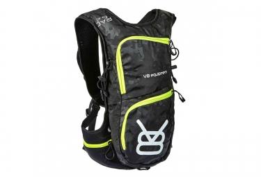 sac a dos v8 equipement rac 6 2 1 5l noir camo jaune