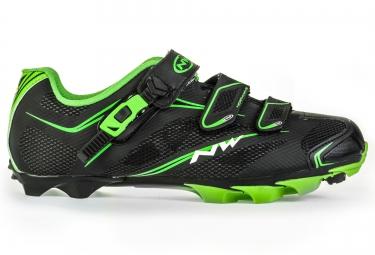 chaussures vtt northwave kaiman srs noir vert