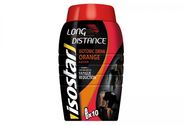 isostar boisson energetique longue distance orange 790g