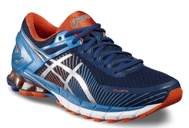asics gel kinsei 6 bleu orange