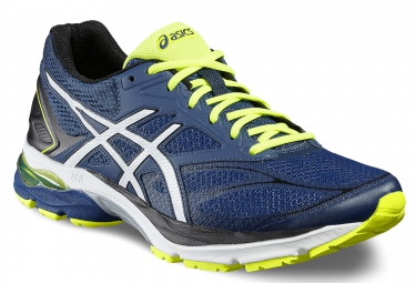 asics gel pulse 8 bleu jaune