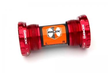 boitier de pedalier box extremum axe 24mm rouge