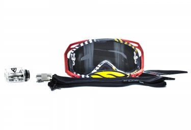 smith masque fuel v2 sweat x pastrana rouge noir transparent roll off
