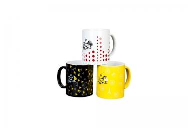 tour de france lot de 3 mugs ceramique 2016