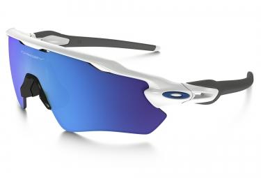 lunettes oakley radar ev path blanc bleu iridium ref oo9208 17