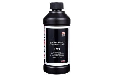 huile de suspension rockshox pour fourche et amortisseur 3 wt 472 ml