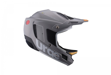 urge casque integral archi enduro rr argent orange blanc 2017