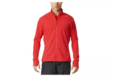 veste thermique adidas running supernova storm rouge