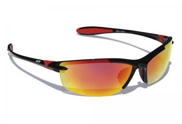 lunettes azr flandre noir iridium rouge
