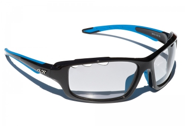 lunettes azr kromic cross noir bleu transparent