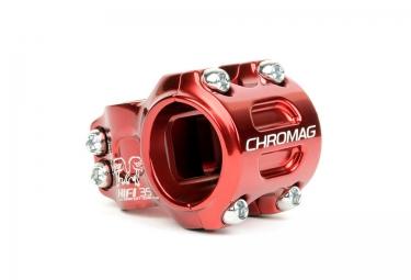 potence vtt chromag hi fi 35 rouge