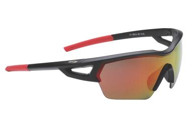 lunettes de cyclisme bbb arriver noir rouge