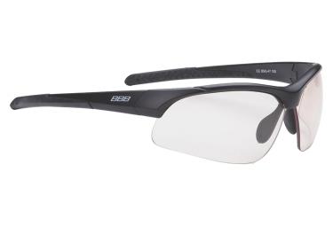 lunettes de cyclisme bbb imprress photochromique noir transparent