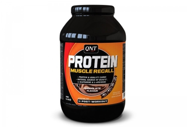qnt boisson proteinee protein muscle recall chocolat 1 5kg