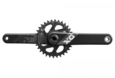 pedalier sram x01 eagle avec plateau direct mount 32 dents gxp non inclus noir
