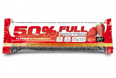 qnt barre proteinee 50 full protein fraise 50gr