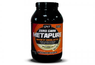 qnt boisson proteinee zero carb metapure vanille 1kg
