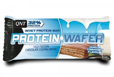 qnt barre proteinee protein wafer vanille yaourth 35gr