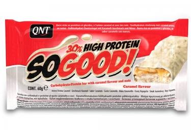 qnt barre hyperproteinee so good chocolat blanc caramel 60gr