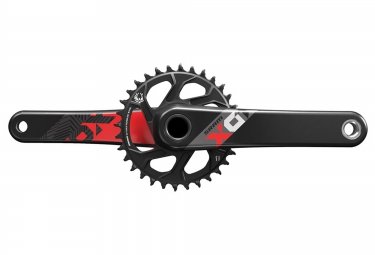 pedalier sram x01 eagle avec plateau direct mount 32 dents bb30 non inclus rouge