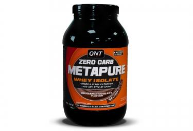 qnt boisson proteinee zero carb metapure chocolat 1kg
