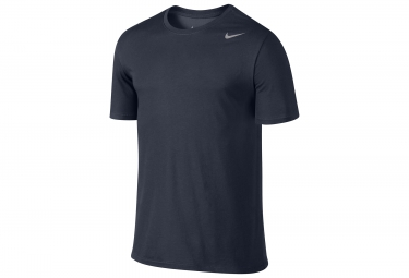 maillot manches courtes nike dry training bleu