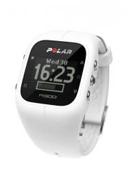polar montre m400 gps hr avec ceinture cardiaque blanc