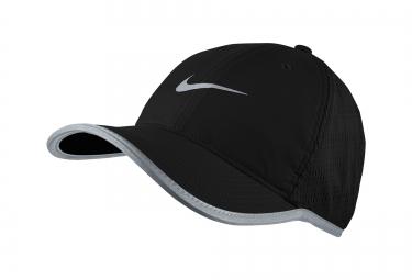 casquette de running nike featherlight noir