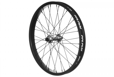 roue avant bmx colony pinnacle noir argent