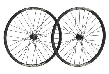 paire de roues spank spike race 28 bead bite 27 5 av 20x110mm ar 12x135mm noir