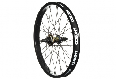 roue arriere colony freecoaster pintour 9t noir oil slick