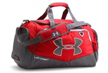 sac de sport under armour storm undeniable ii 60l rouge gris