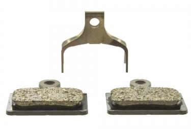 shimano plaquettes de freins a disque k02s metaliques