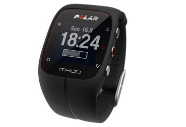 polar montre m400 gps noir