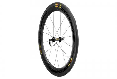 mavic 2015 roue avant cosmic cxr 60 c pneu yksion cxr griplink
