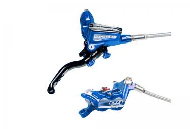 frein arriere hope tech 3 e4 bleu durite standard levier a droite