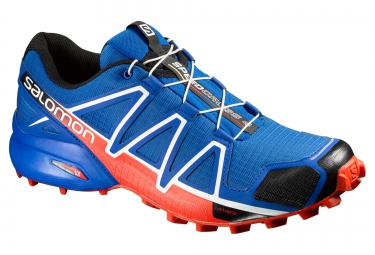 salomon speedcross 4 bleu orange