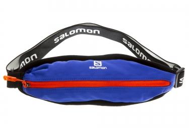ceinture extensible salomon agile single bleu orange